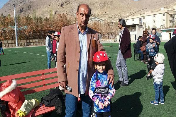 اجرا مسابقات اسکیت سرعت طرح استعدادیابی شرق استان تهران در دماوند