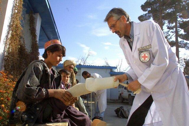 گزارشی از برنامه های توانبخشی صلیب سرخ در افغانستان