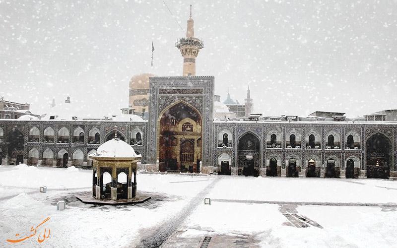 با بعضی از جاذبه های دیدنی مشهد در فصل زمستان آشنا شوید