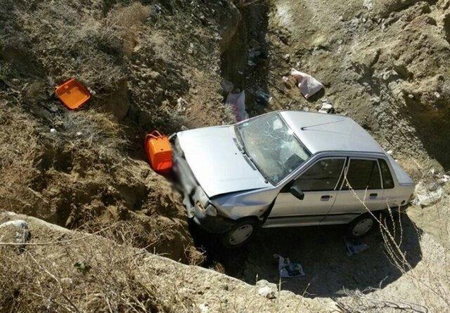 نجات فرد سقوط نموده به دره 150 متری از مرگ حتمی پس از 4 روز