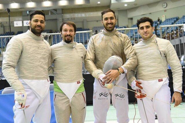 ترکیب تیم سابر ایران در جام جهانی مصر، قاهره ایستگاه پایانی برای رسیدن به سهمیه تیمی المپیک