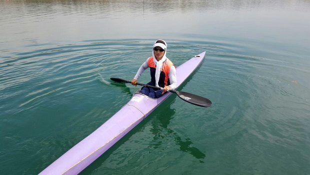 قایقران ملی پوش پارا کانو: با شرایطی که برایم پیش آمد امیدم را از دست ندادم